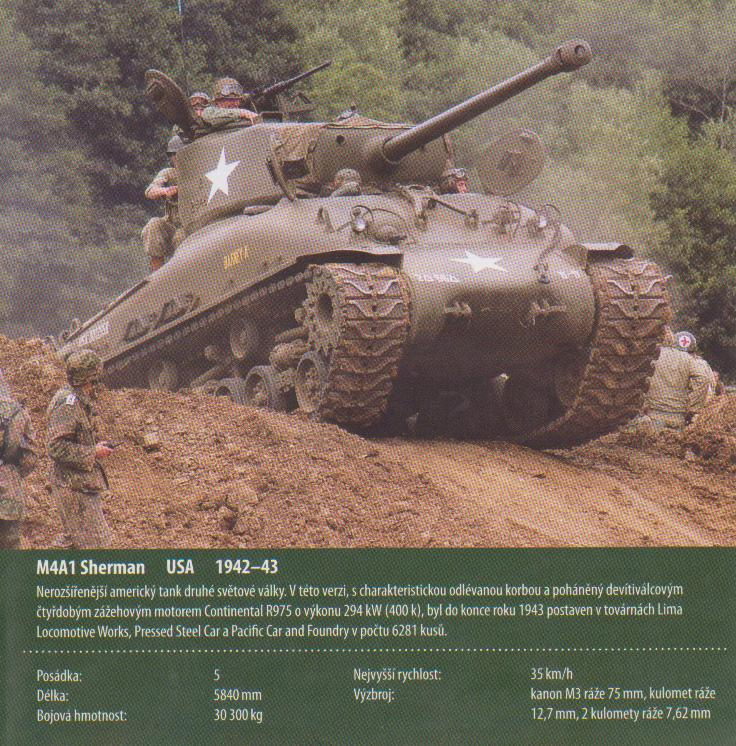 M4A1 SHERMAN USA 1942-1943