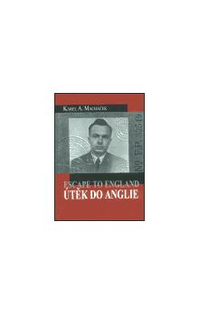 přebal autobiorgafie Útěk do anglie ( Escape to England )